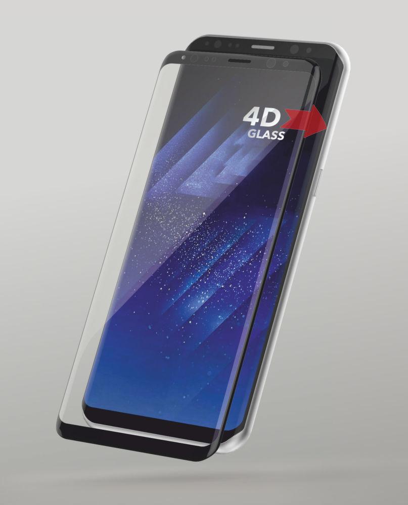 Sturdo 4D ochranné sklo Samsung Galaxy S8 černé