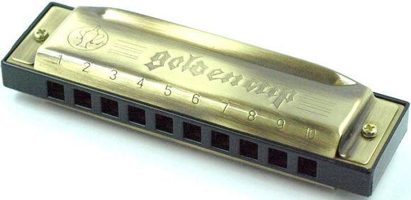 Golden Cup JH 1020 foukací harmonika