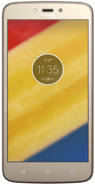Lenovo Moto C Plus Dual SIM 1GB/16GB zlatý