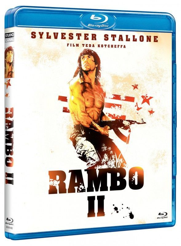Rambo 2 - Blu-ray film