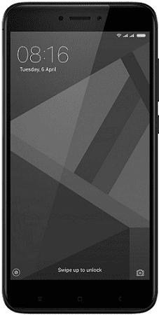 Xiaomi Redmi 4X 3GB/32GB Dual SIM černý