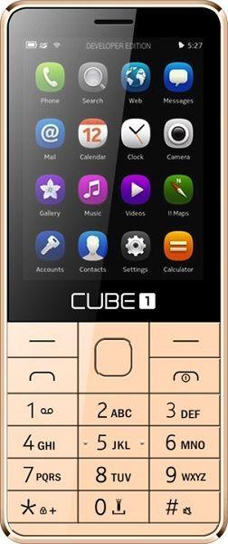 Cube 1 F300 zlatý