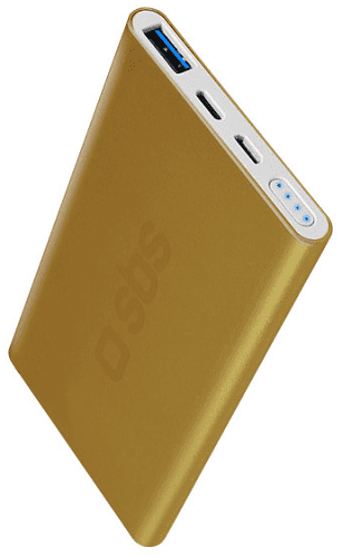 SBS Power Bank 5000 mAh zlatá