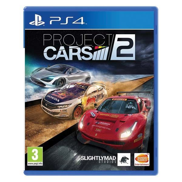 Project Cars 2 - PS4 hra