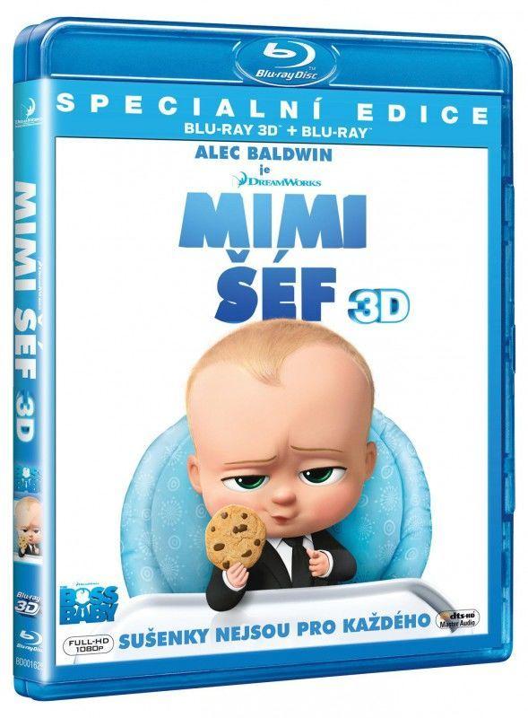 Mimi šéf (3D+2D) - Blu-ray film
