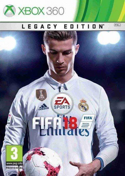 FIFA 18 Legacy Edition - Xbox 360 hra + dárek Mikrotrading Míč fotbalový zdarma