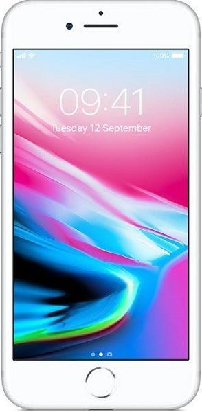 Apple iPhone 8 64GB, Stříbrná