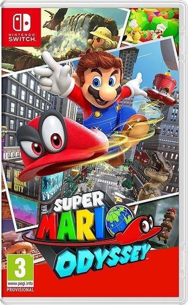Super Mario Odyssey - Nintendo Switch hra