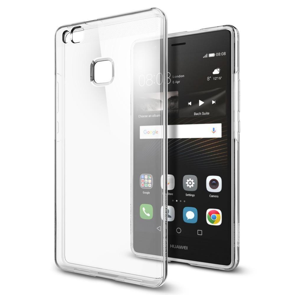 Spigen Huawei P8/P9 Lite 2017 Case Liquid Crystal, transparentní