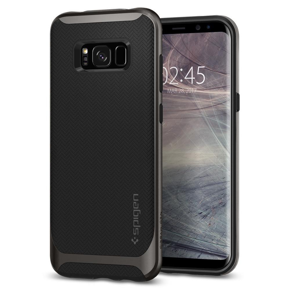 Spigen Galaxy S8 Case Neo Hybrid, šedá
