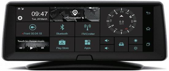 Carneo Combo A9400 GPS navigace + kamera do auta