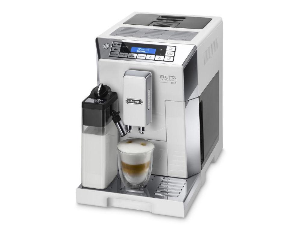 DELONGHI ECAM 45.760.W Eletta Cappuccino Top (bílá) - Automatické espresso + dárek DéLonghi poháre na espresso (2ks/60ml) zdarma