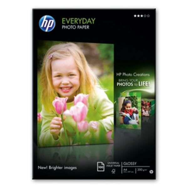 HP Q2510HF Everyday Glossy Photo Paper A4 - fotopapír