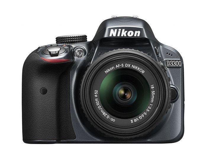 Nikon D3300 (šedý) + 18-55 AF-S DX VR II