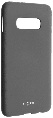 Fixed Story silikonový zadní kryt pro Samsung Galaxy S10e, šedá