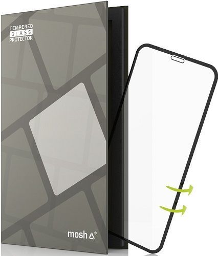TGP Case Friendly tvrzené sklo pro Apple iPhone X, černé