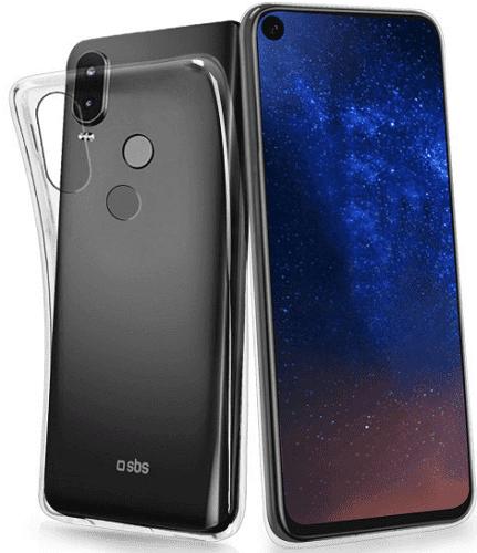 SBS Skinny pouzdro pro Motorola One Vision, transparentní