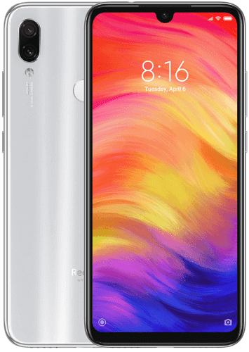 Xiaomi Redmi Note 7 64 GB bílý