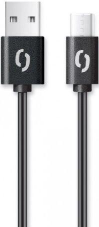 Aligator USB/USB-C kabel 2A 2m, černá