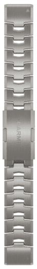 Garmin QuickFit 22mm titanový řemínek pro Fénix 6, stříbrná
