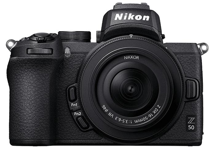 Nikon Z50 černá + Nikon Z DX 16-50mm f/3,5-6,3 VR