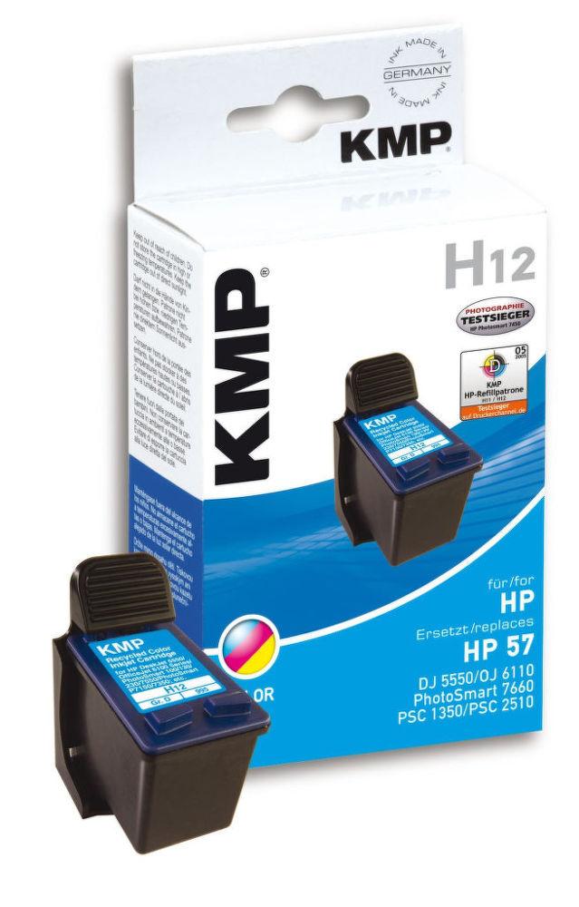 KMP H12 komp.recykl.náplň C6657AE