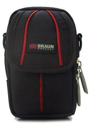 Braun Asmara Medium 200 černá - brašna na fotoaparát