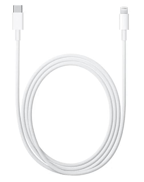 Apple Lightning - USB-C kabel 1m, bílá