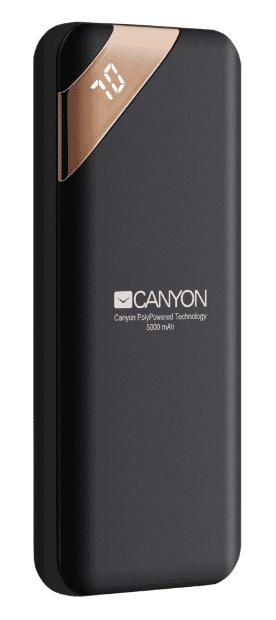 Canyon CNE-CPBP5B powerbanka 5000 mAh, černá