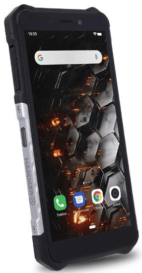 MyPhone Hammer Iron 3 3G stříbrný