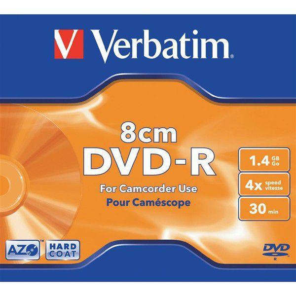 Verbatim DVD-R 1,4GB 4x, 8cm, 1 ks
