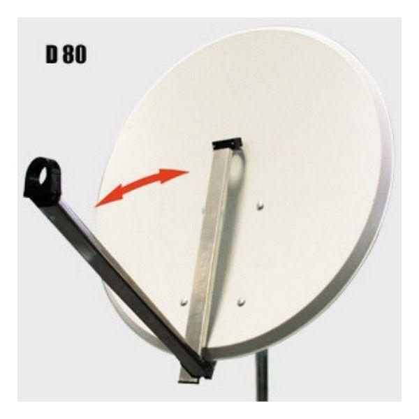 PARABOLA D80 cm Click clak, hliník