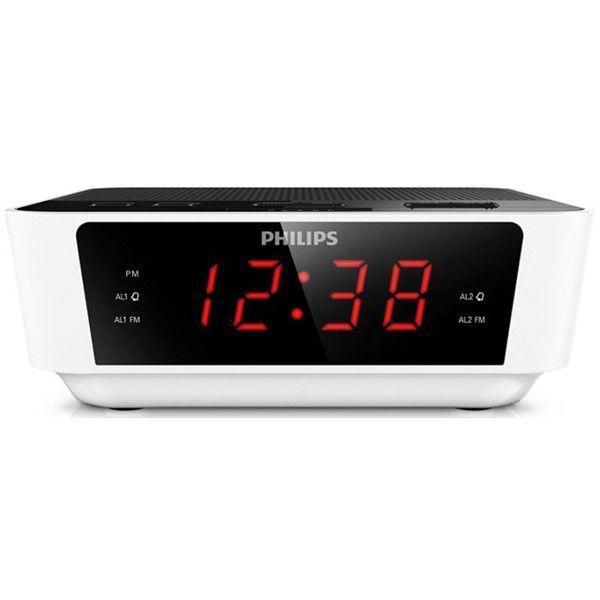 Philips AJ3115 bílý- rádiobudík