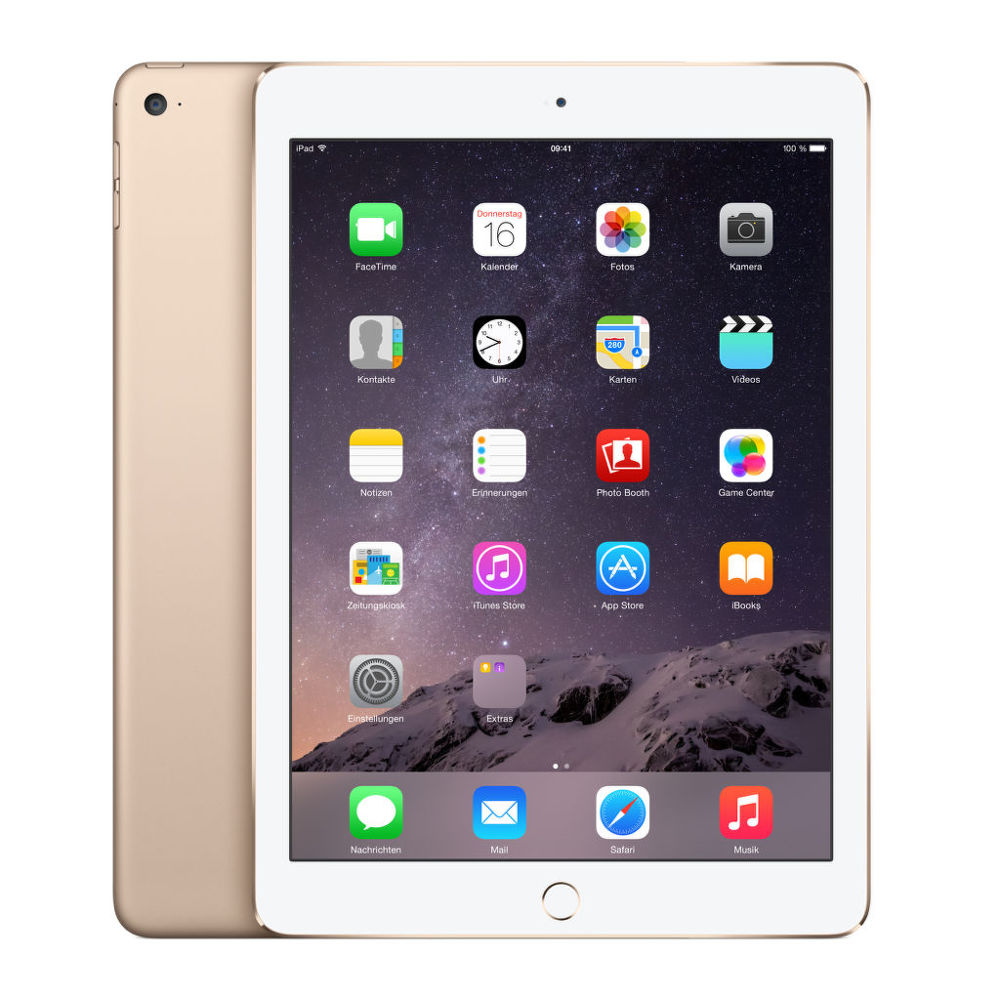 apple ipad air 2 64 gb wifi zlat tablet. Black Bedroom Furniture Sets. Home Design Ideas