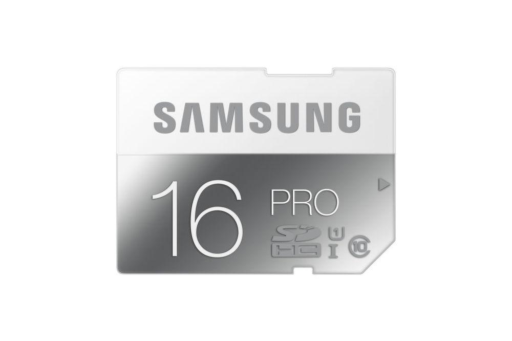 SAMSUNG 16 GB SDHC PRO Class 10