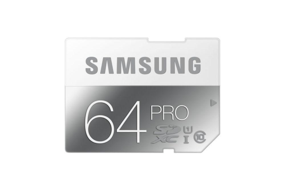 SAMSUNG 64 GB SDXC PRO Class 10