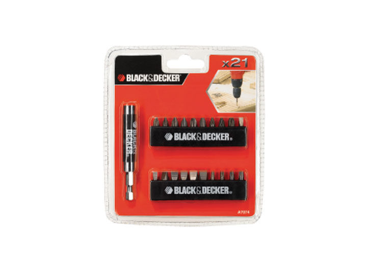 Black & Decker A7074 - sada šroubovacích bitů