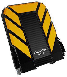 """A-DATA Durable HD710 2,5"""" 1TB USB 3.0 (žlutý)"""