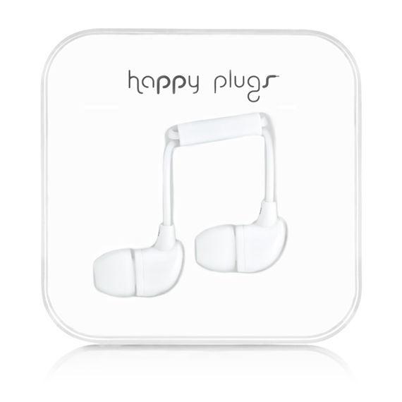 Happy Plugs In-Ear 7726 (bílá)