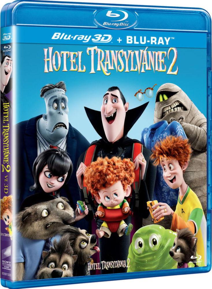 Hotel Transylvánie 2 (3D) - Blu-ray film