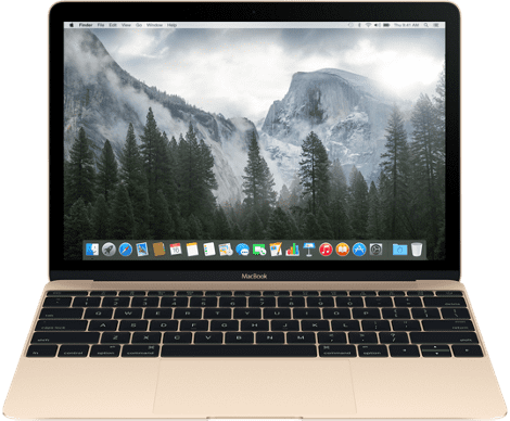"Apple MacBook 12"" 256GB (zlatý) MK4M2CZ/A"