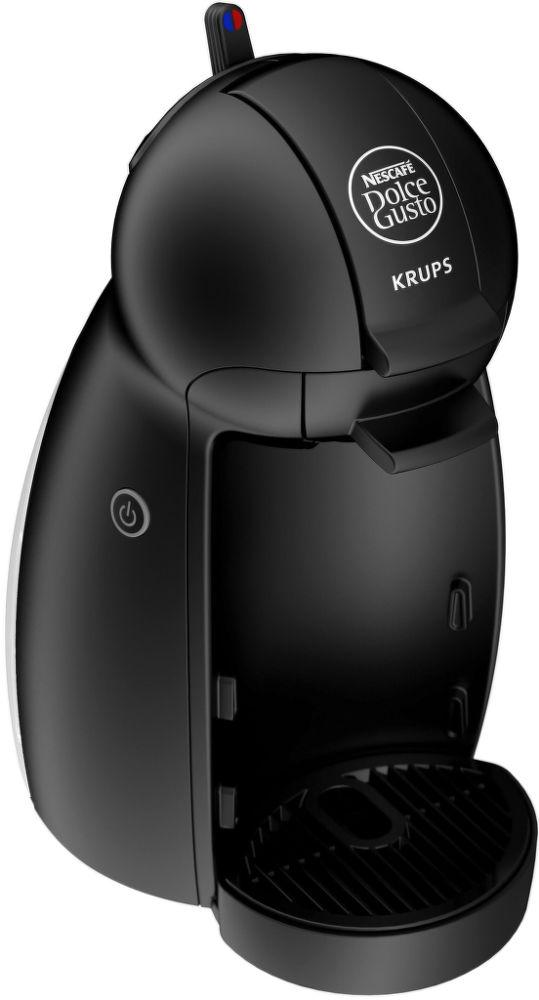 KRUPS KP1000 Nescafé Dolce Gusto PICCOLO (černá) - Kapslový kávovar + dárek Nescafé Dolce Gusto Latte Macchiato Vanilla zdarma