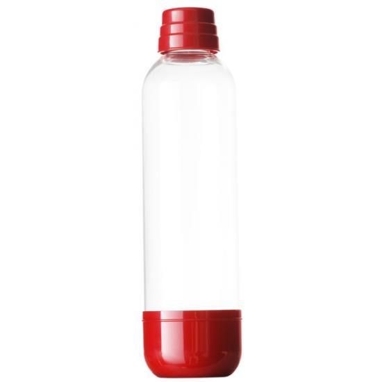 Limo Bar Soda láhev 1 l dark red