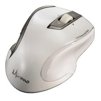 HAMA 53878 Mirano bezdrátová laserová myš, bílá