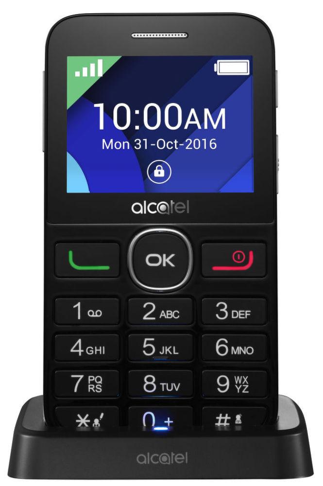 Alcatel OT-2008G (černý)