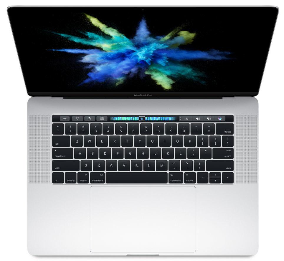 "Apple MacBook Pro 15"" Touch Bar 256GB (stříbrná), MLW72CZ/A"