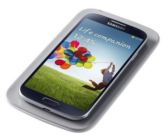 Samsung sada pro bezdrátové nabíjení EP-WI950EB pro Galaxy S4 (i9505) (černá)