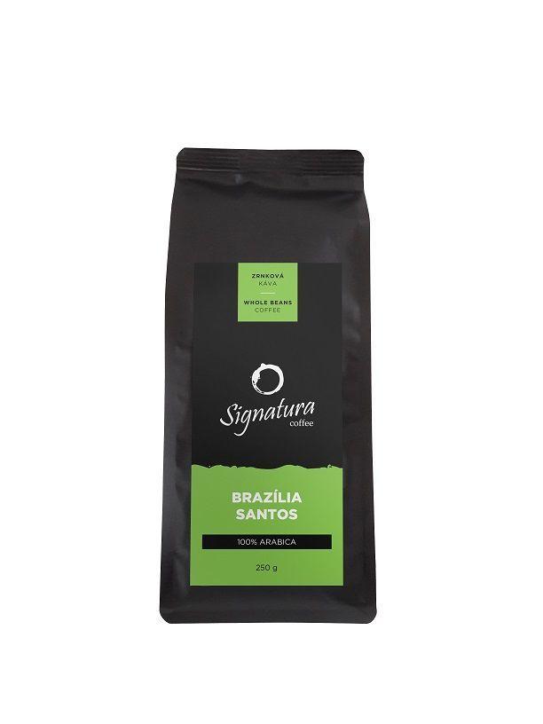Signatura Brasil zrnková káva (250g)
