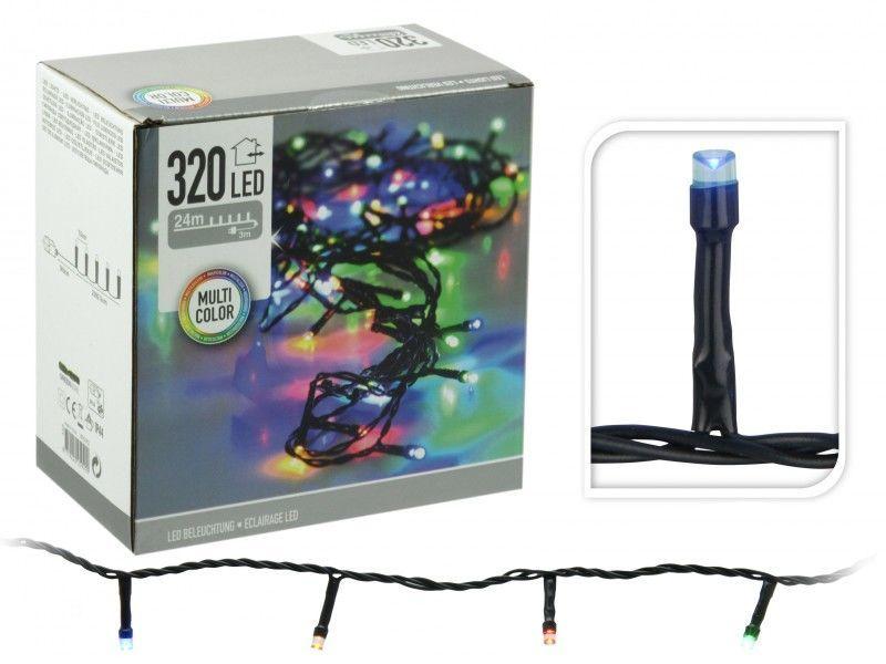 Lios 320 barevná vánoční řetěz