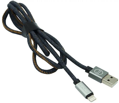 Mizoo X19 lightning-USB kabel, modrá